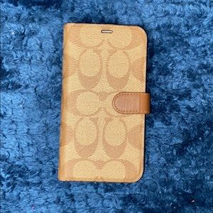 Coach iPhone X/Xs phone/wallet case